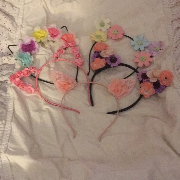 Bundle or separate cat ears ❤️😻THE FLOWER EDITION